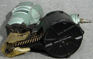 Hitachi NV 83A2 Full Head 3 1 4FRAMING Coil Nailer Side Load