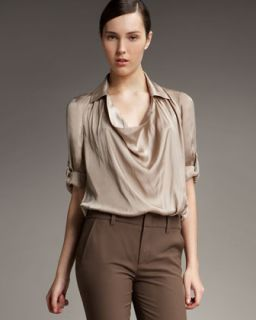 Vince Cowl Neck Collar Blouse