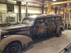 1936 Oldsmobile hot rat rod vintage henney hearse project body