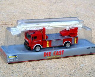 Hedstrom Mercedes Feuerwehr 112 Fire Engine Aerial Ladder Truck 8 1