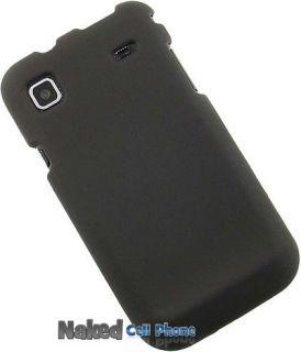 BLACK HARD CASE + BELT CLIP HOLSTER FOR TMOBILE SAMSUNG VIBRANT T959