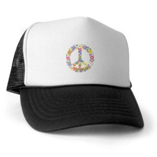 Artsmith, Inc. Trucker Hat (Baseball Cap) Floral Peace