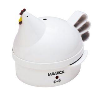 maverick sec 2 henrietta hen egg cooker white