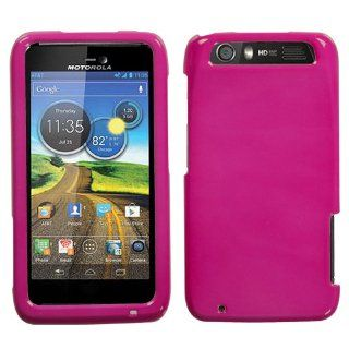 Hot Pink Hard Faceplate Case Cover For Motorola Atrix HD