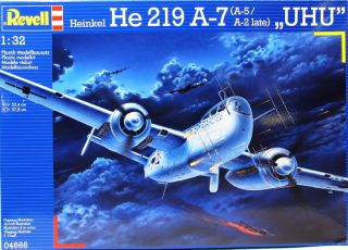 Revell 04666 Heinkel He 219 A 7 UHU 1 32 Scale Aircraft Kit