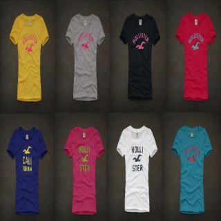 Hollister by Abercrombie Womens Hobson Park Graphic Tee T Shirt