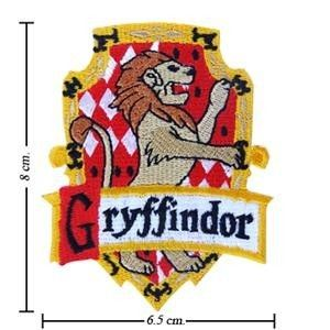 Harry Potter Crest Iron Gryffindor Patch Badge B 3 2