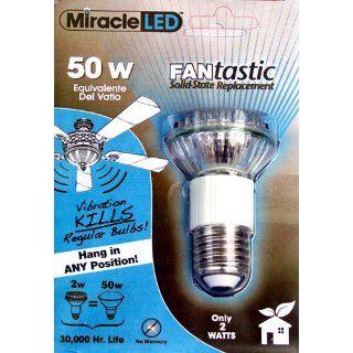 50W LED Fantastic Fan Light Bulb (2 pack)