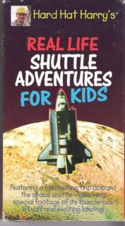 Hard Hat Harrys Real Life Shuttle Adventures Kids VHS