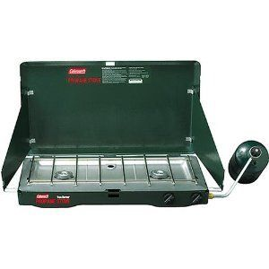 Coleman Two Burner Propane Stove Brand New Great for Camping Hiking