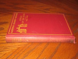 Series Tennysons Idylls of The King by Henry Van Dyke 1904 HC
