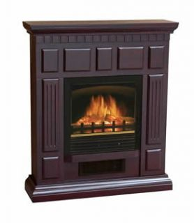 Hartford Electric Fireplace Heater from World Marketing COFFEE
