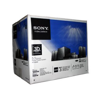 NEW Sony HT SS380 5 1 Audio Home Theater Stereo System 3D Blu ray Disc