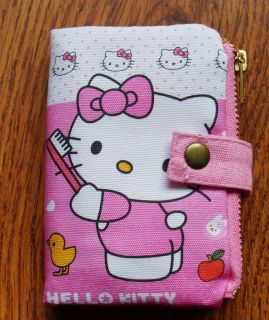 BRAND NEW CARTOON HELLO KITTY CREDIT CARD PHOTO ID CASE HOLDER