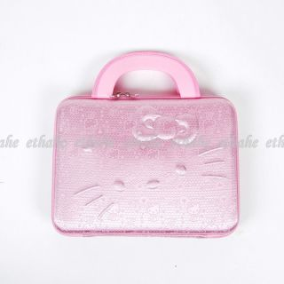 Hello Kitty Mini Laptop Case Computer Bag Pink 2EA3