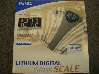 Homedics Lithium Digital Bathroom Scale Model SC 470