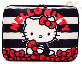 sanrio hello kitty formed macbook laptop bag bubble bow