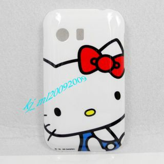 Galaxy Y S5360 Phone Case Hello Kitty A Screen Protector