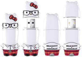Hello Kitty Nerd Mimobot USB 2 0 Flash Drive 4GB New