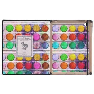 Fine Art Fun Colorful Paint Color Box iPad Case