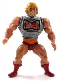 Masters of the Universe motu 1984 heman BATTLE ARMOR HE MAN figure