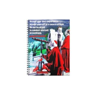 Cardinals Spiral Note Book