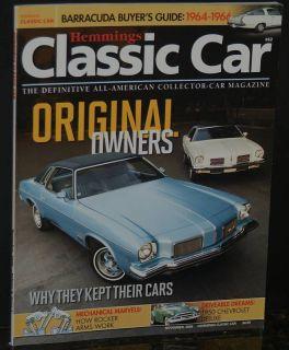 Hemmings Classic Car Magazine Olds Cutlas November 2009