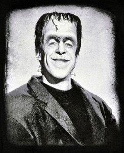 Herman Munster Mens T Shirt Goth Horror Monster Vampir