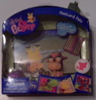 Littlest Pet Shop LPS Postcard Pet Hermit Crab 1008 New