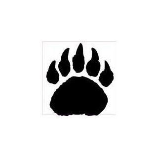 Bear Paw Print decal sticker, Choose size great for wall