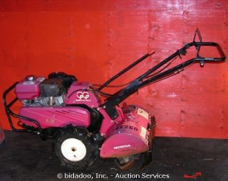 2007 Honda FRC800 20 Rototiller Walk Behind Honda Engine 3 Speed