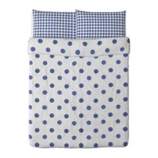New IKEA Henny Cirkel 3pcs Duvet Cover Pillowcases Set Full Queen