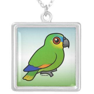 Orange winged  Custom Necklace