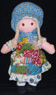 "Nice 9"" Original Holly Hobbie Doll by Knickerbocker"
