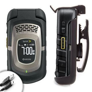USA GEAR Heavy Duty Portable Belt Clip Case for Sprint Kyocera Pro 820