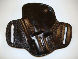 Tagua Black Leather Open Top Belt Holster 4 Ruger LCR