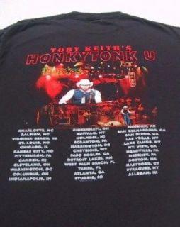 Toby Keith Honky Tonk U 2005 Tour Large Concert T Shirt