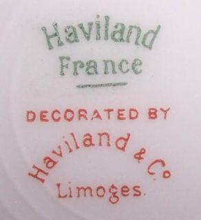VINTAGE HAVILAND LIMOGES AUTUMN LEAF SALAD PLATE 8 5/8 (5 AVAIL) EX