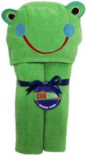Kids Hooded Bath Towel Freddy The Frog