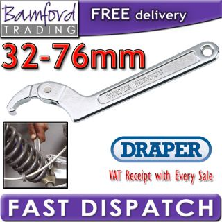 Bamford Trading   Draper Hook Wrench C Spanner Motorcycle Suspension