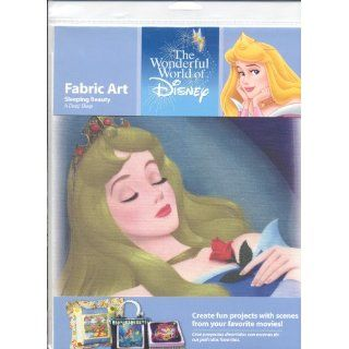 The Wonderful World of Disney Fabric Art Sleeping Beauty A