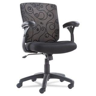 Mid Back Swivel Tilt Mesh Swirl Chair Guest Chair OIFLG4217