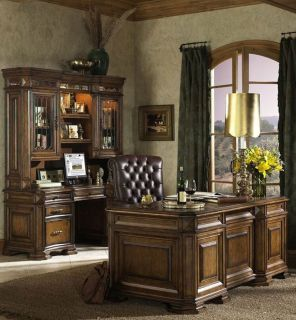 New Executive Home Office Computer Desk Wood Furniture