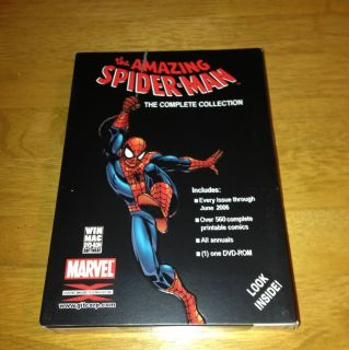 Amazing Spider Man Comics Complete Collection DVD ROM Marvel Used
