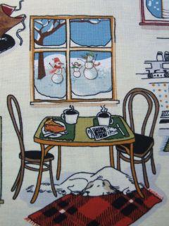 Cabin Woods Home Alexander Henry Christmas Winter Fabric Yard