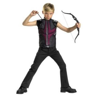 MARVEL THE AVENGERS HAWKEYE COSTUME MUSCLE TOP SIZE 4 6 BOW & ARROWS