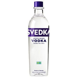 Svedka Vodka 80@ 1 Liter Grocery & Gourmet Food