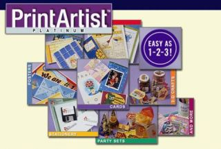 Platinum PC CD Greeting Cards Edit Photos Publishing Suite 7CDS