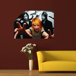 Paramore Hayley Williams Emo Self Adhesive Canvas Vector Poster SC962