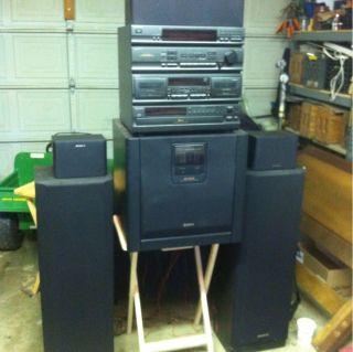 Sony HCD 541 Home Stereo System